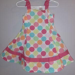 Gymboree Popsicle Party Polka Dot Twirl Dress
